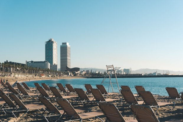 What If We Blog - Barcelona Beach - Aug 25
