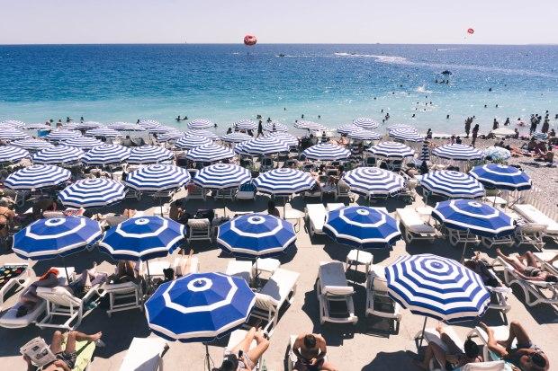 What If We Blog - Nice Beach - Aug 13