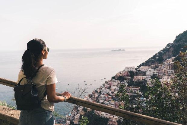 Overlooking Positano